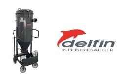Delfin neuer Silo-Druckluft-Industriesauger mit SELF-CLEAN-SYSTEM