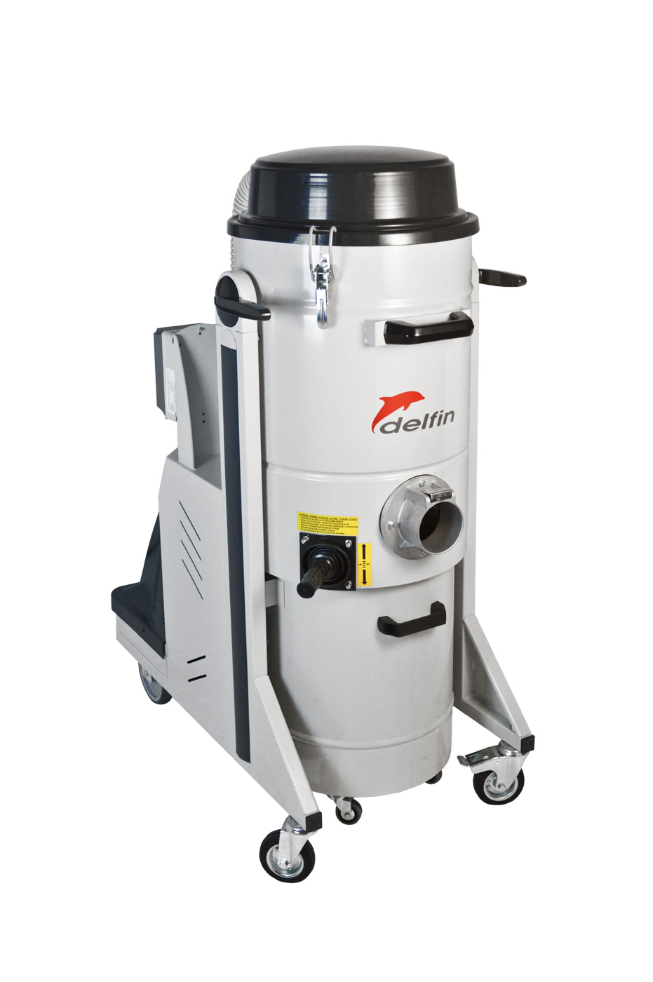 Three phase industrial vacuum cleaner for dust powder and solids