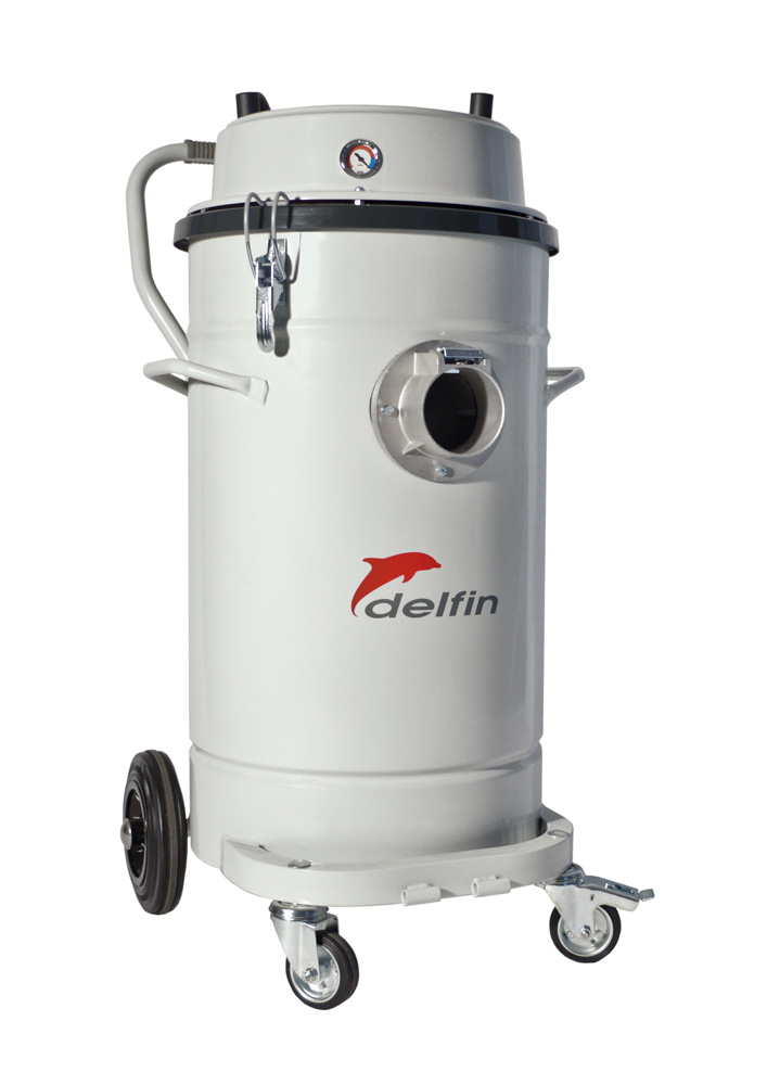 Air Powered Vacuum : Air operated industrial vacuum cleaner