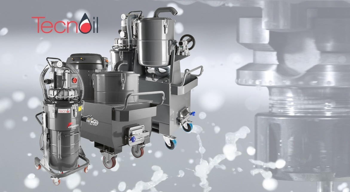 Sump Industrial vacuum cleaner for oil and chips