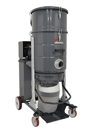 XTRACTOR 75 AF INDUSTRIAL VACUUM CLEANER FOR FINE DUST SUCTION IN FLOOR PREPARATION OPERATIONS